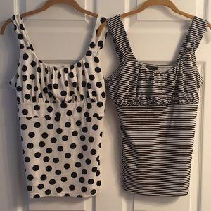 Pair of 'Ann Taylor' dress tank tops